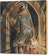 Frontispiece To Jerusalem Wood Print by William Blake