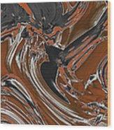 Frost And Woodsmoke  Wood Print