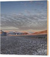 Frosted Palouse Wood Print