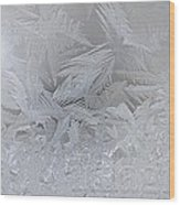 Frosty Dreams Wood Print