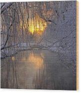 Frosty Morn 2 Wood Print