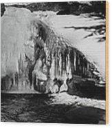 Frozen Basin Wood Print