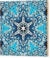 Frozen Divinity Wood Print