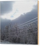 Frozen Pt2 Wood Print