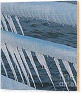 Frozen Stiff Wood Print
