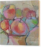 Fruit Bowl #5 Wood Print