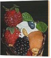 Fruit Flavor Wood Print