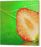 Fruit Of Rainy Summer Wood Print