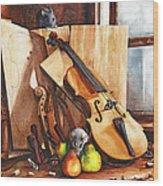 Fruit Of The Wood Wood Print