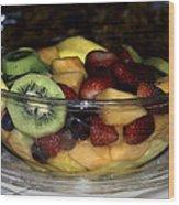 Fruit Salad Wood Print