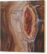 Fruit Wood Print by Tanya Byrd