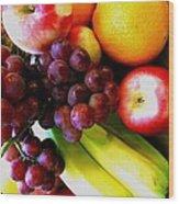 Fruit V Wood Print