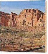 Fruita Utah Panorama 002 Wood Print