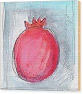 Fruitful Beginning Wood Print by Linda Woods