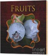 Fruits Gallery Wood Print