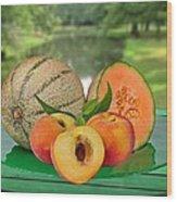 Fruits-garden Wood Print