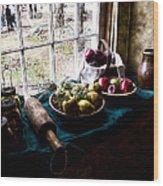 Fruits Of Harvest Wood Print