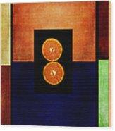 Fruity Triptych Wood Print