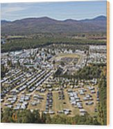 Fryeburg Fair, Maine Me Wood Print