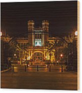 Fsu Westcott Building/ruby Diamond Auditorium Wood Print by Frank Feliciano