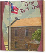 Ft Belknap Historic Site Wood Print