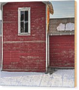 Ft Collins Barn 13496 Wood Print by Jerry Sodorff
