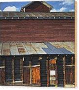 Ft Collins Barn 13553 Wood Print