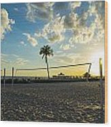 Ft. Myers Volleyball Wood Print