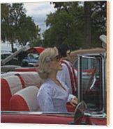 Fuel Injection Cadillac Wood Print