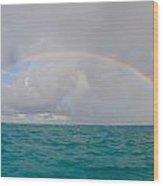 Full Arc Rainbow Wood Print