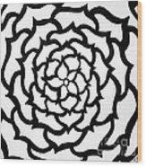 Full Bloom I I Wood Print