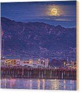 Full Moon Rising #2 Wood Print