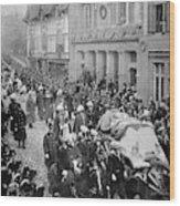 Funeral Of Queen Victoria Wood Print