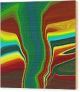 Funnel Cloud  C2014 Wood Print