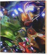 Funshway Light Wood Print by Terril Heilman