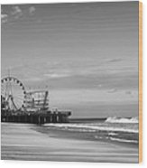 Funtown Pier Seaside Heights New Jersey  Wood Print