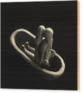 Fur Traders Wood Print