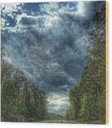 Furnace Branch Road Wood Print