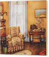 Furniture - Chair - Livingrom Retirement Wood Print