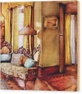 Furniture - Chair - The Queens Parlor Wood Print