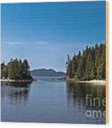 Fury Cove Wood Print