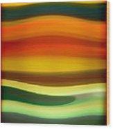 Fury Sea 6 Wood Print