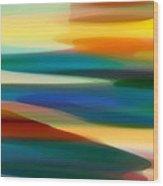 Fury Seascape 6 Wood Print