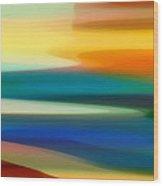 Fury Seascape II Wood Print