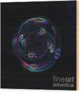 Futuristic Bubble Wood Print