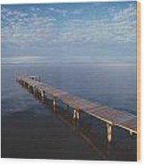 Fv2549, Mattthew Plexman Long Dock Out Wood Print
