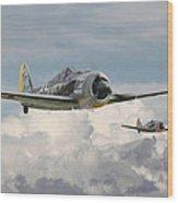 Fw 190 - Butcher Bird Wood Print