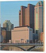 Fx1l922 Columbus Ohio Skyline Photo Wood Print