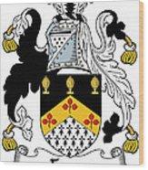 Fyan Coat Of Arms Irish Wood Print