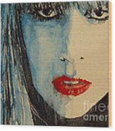 Gaga Wood Print by Paul Lovering